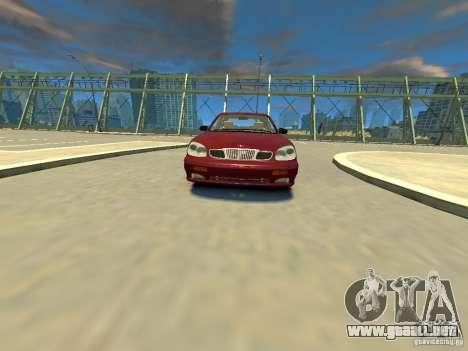 Daewoo Leganza CDX para GTA 4 visión correcta