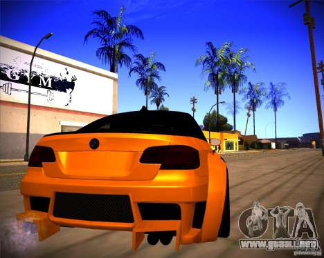 BMW M3 E92 Drift Version para la visión correcta GTA San Andreas