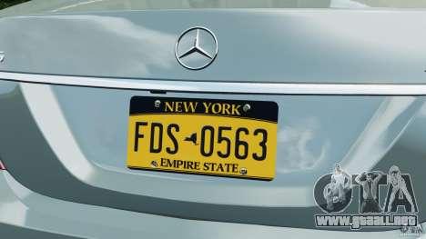 Mercedes-Benz S65 AMG 2012 v1.0 para GTA 4 ruedas
