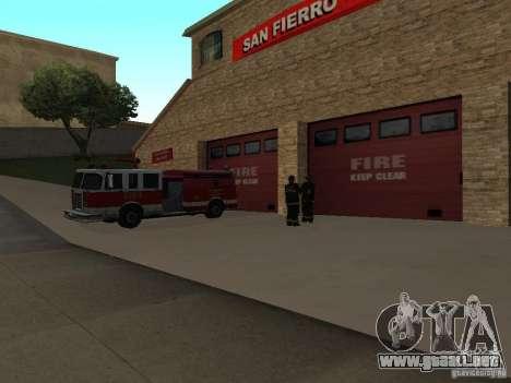 Firehouse vibrante en SF para GTA San Andreas segunda pantalla