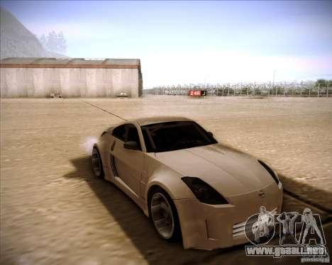 Nissan 350Z AdHoc para GTA San Andreas
