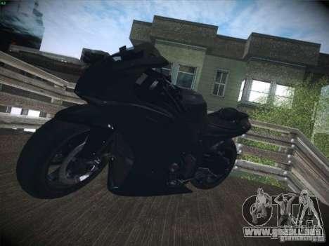 Aprilia RSV4 para visión interna GTA San Andreas
