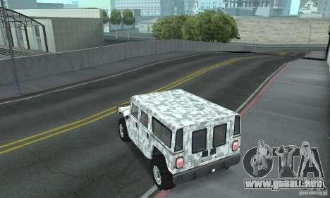 Hummer H1 para GTA San Andreas interior