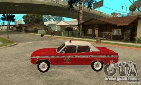 AMC Matador Taxi para GTA San Andreas left