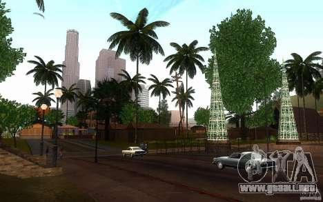 Vegetación perfecta v. 2 para GTA San Andreas sexta pantalla
