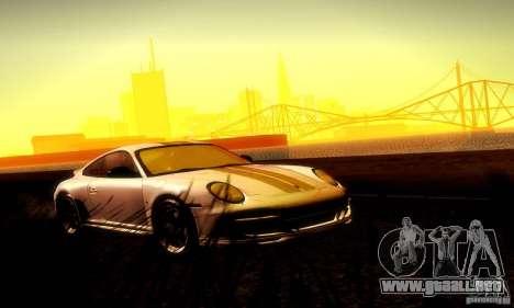 Porsche 911 Sport Classic para la vista superior GTA San Andreas