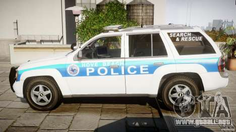 Chevrolet Trailblazer Police V1.5PD [ELS] para GTA 4 left