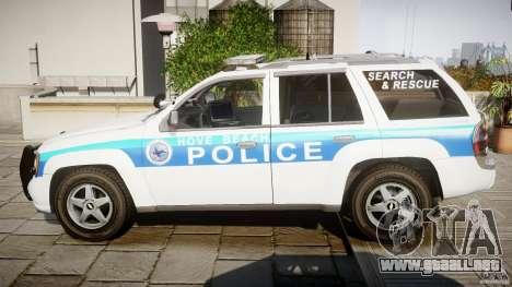 Chevrolet Trailblazer Police V1.5PD [ELS] para GTA 4 left