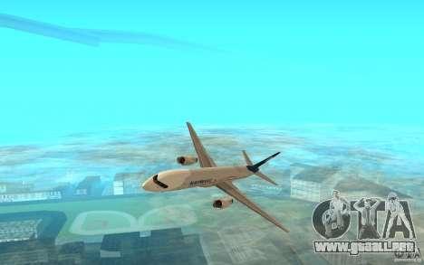 Boeing 757-200 para GTA San Andreas left