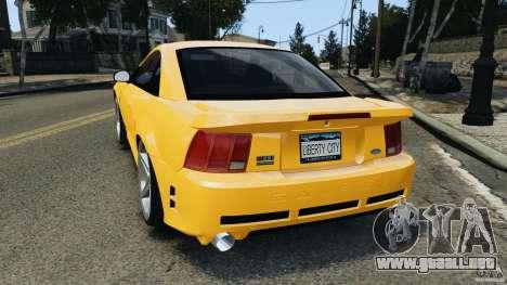 Saleen S281 2000 para GTA 4 Vista posterior izquierda
