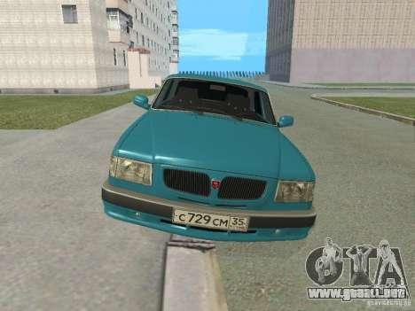 Volga GAZ 3110 para GTA San Andreas left
