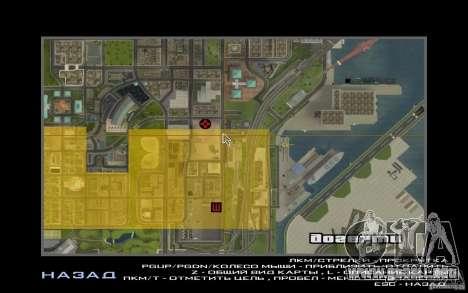 Torres gemelas para GTA San Andreas segunda pantalla