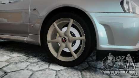 Nissan Skyline GT-R R34 2002 v1 para GTA 4 vista superior