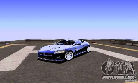 Jaguar XKRS para GTA San Andreas