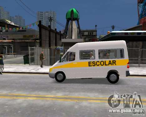 Mercedes-Benz Sprinter W903 para GTA 4 left