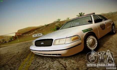 Ford Crown Victoria Missouri Police para GTA San Andreas