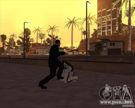 Kick in the balls para GTA San Andreas sucesivamente de pantalla