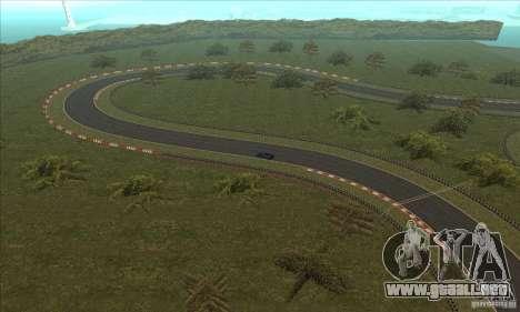 GOKART pista ruta 2 para GTA San Andreas undécima de pantalla