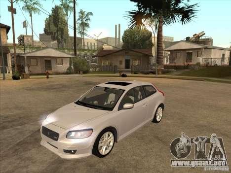 Volvo C30 para GTA San Andreas left