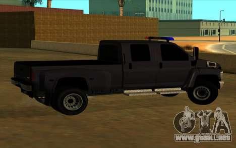 GMC Topkick C4500 para visión interna GTA San Andreas
