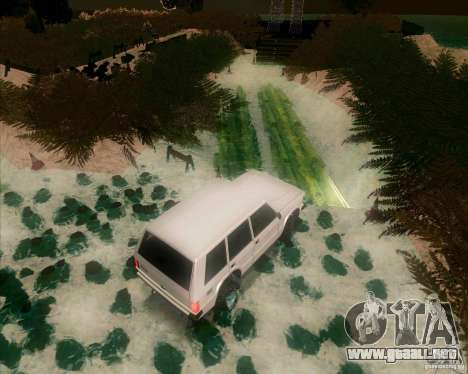 Off-Road Track para GTA San Andreas