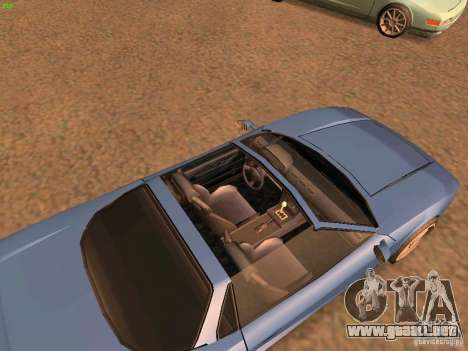 Infernus Revolution para GTA San Andreas left
