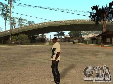 Mike Svoboda para GTA San Andreas sucesivamente de pantalla