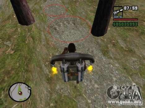 Jetpack spawner para GTA San Andreas