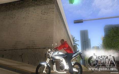 Honda CBF 600 Hornet para GTA San Andreas left