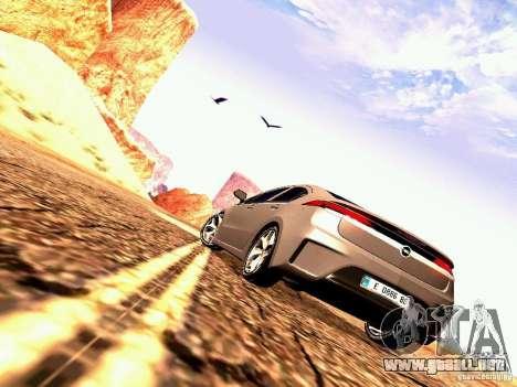Opel Ampera para la visión correcta GTA San Andreas