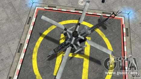 Bell AH-1Z Viper para GTA 4 visión correcta