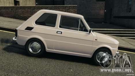 Fiat 126 Classic para GTA 4 left