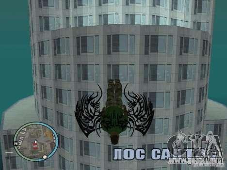 Alas alas para GTA San Andreas tercera pantalla