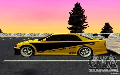 Toyota Chaser JZX100 para GTA San Andreas left