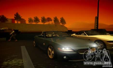BMW Z4 para la vista superior GTA San Andreas