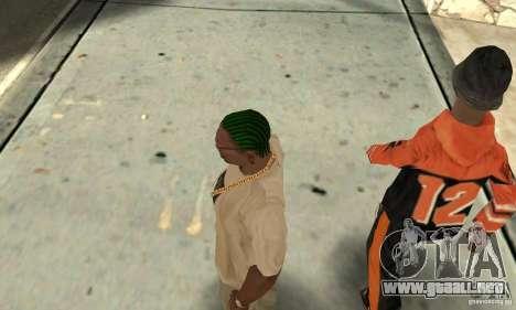 Kornrou verde para GTA San Andreas tercera pantalla