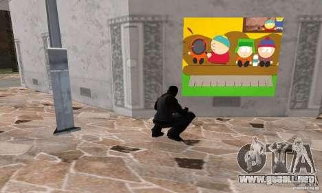 South Park Grafitti Mod para GTA San Andreas quinta pantalla