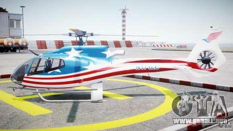 Eurocopter EC 130 B4 USA Theme para GTA 4 left