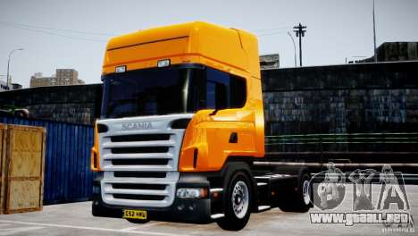 Scania R500 para GTA 4