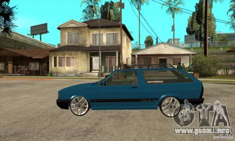 VW Parati GLS 1989 JHAcker edition para GTA San Andreas left