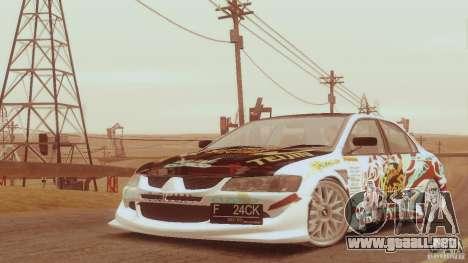 SA_gline para GTA San Andreas twelth pantalla