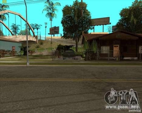 Car in Grove Street para GTA San Andreas tercera pantalla