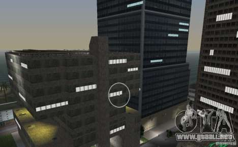 New Downtown: Hospital and scyscrap para GTA Vice City octavo de pantalla