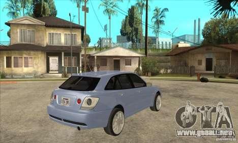 Toyota Alteza Wagon para la visión correcta GTA San Andreas