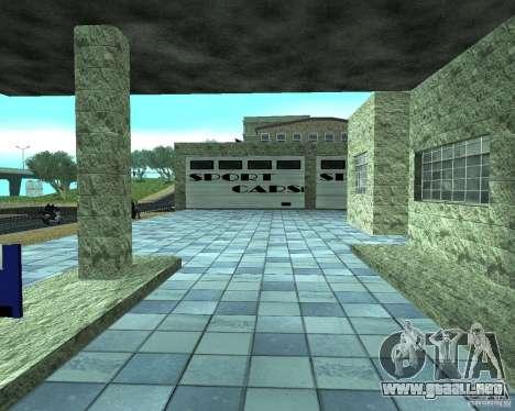 HD garaje en Doherty para GTA San Andreas séptima pantalla