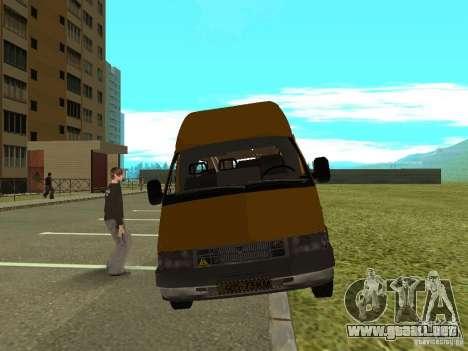 Ruta GAS SPV-16 para GTA San Andreas