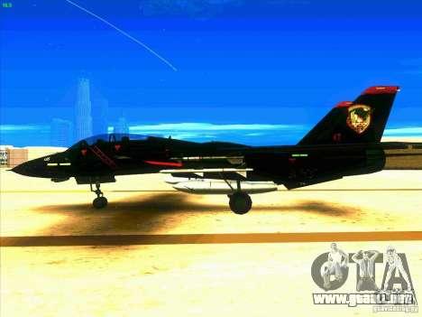 F-14 Tomcat Razgriz para GTA San Andreas left