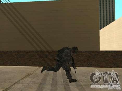 Animations v1.0 para GTA San Andreas segunda pantalla
