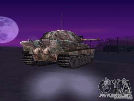 Pzkpfw VII Tiger II para la visión correcta GTA San Andreas