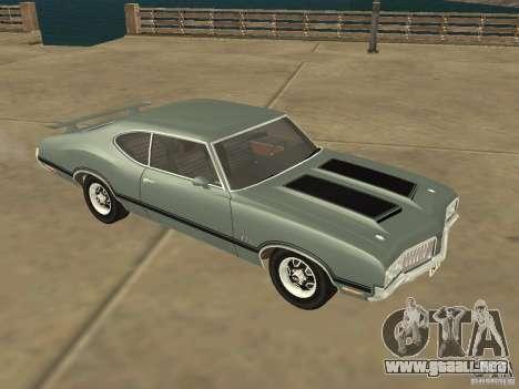 Oldsmobile 442 Cutlass 1970 para GTA San Andreas left